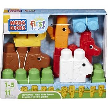 Mega Bloks First Builders Farm Pals