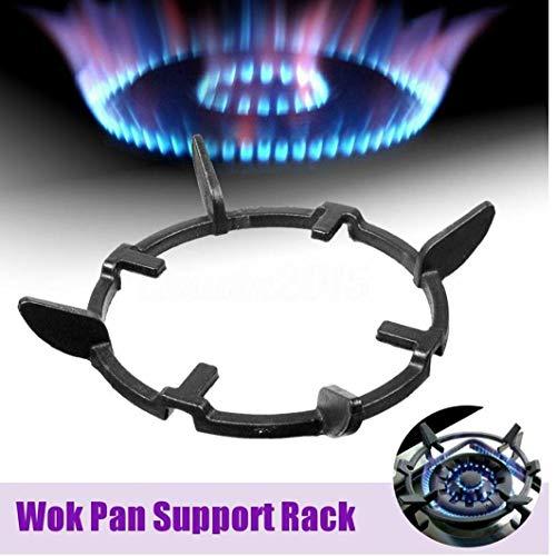 Angoter universale iron wok pan supporto rack supporto per cucina a gas accessori per la mensola piano cottura della cucina