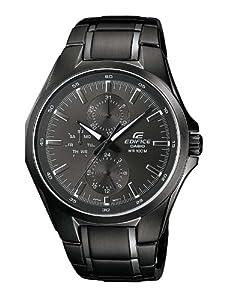 Reloj Casio EF-339BK-1A1VEF de cuarzo para hombre con correa de acero inoxidable, color negro de Casio