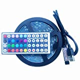 E-JIAEN DC 5V USB LED Strip Light SMD 5050 60 led /per meter Waterproof Flexible rope tape decoration light for TV dinning room (5 meter)