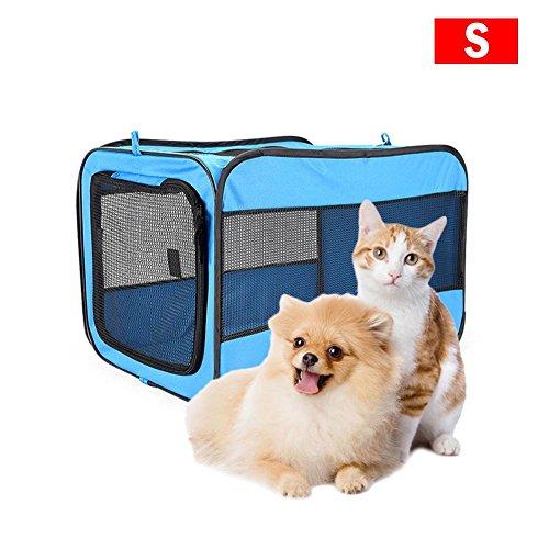 Arvin87Lyly Faltbarer Oxford Haustierzeltkatzen Hundenzelt tragbarer Katzenkäfig Hundekäfig breathable warm