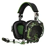 Sades Sa926 Aviation stéréo Casque de Jeu pour PS4/PS3/Xbox One/Xbox 360/PC/iPhone