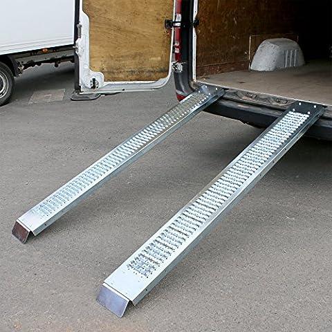 Marko Auto Accessories 400KG 1.8M Steel Loading Ramps Trailer Van Truck Motorbike Quad Bike Lawn Mower