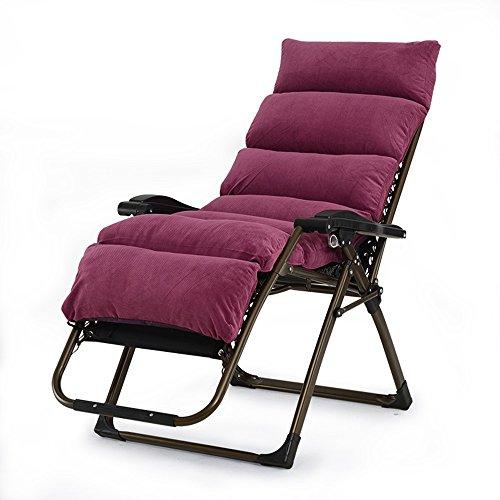 T-Y Chaises Pliantes Chaises de Bureau Chaises Longues Chaises de Plage (154 * 80 * 74cm) (Couleur : F)