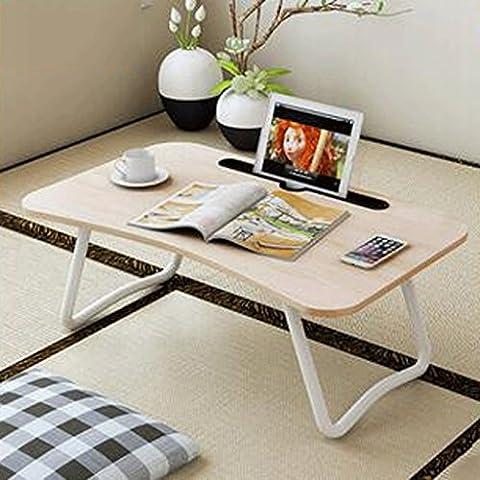 GAOLILI Notizbuch Computertische Klappbett Portable Tablette Computer Lern Schreibtisch Schreibtisch Lazy Schlafsaal Schlafzimmer ( Farbe : C )