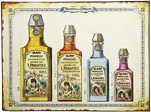 """Comptoir de Famille - Plaque publicitaire - plaque """"parfumerie des chevaliers"""""""