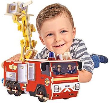 Eichhorn 109255602 Puzzle de Pompier Pompier Pompier Sam 3D 23 x 18,5 cm | Belle Qualité  c17184