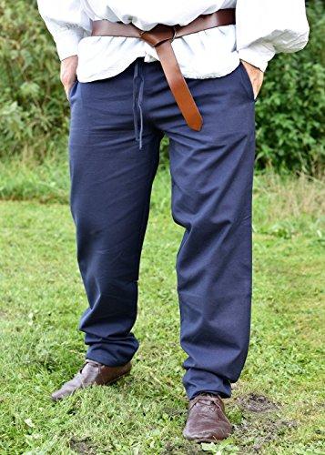 Battle Merchant - Pantalon - Boyfriend - Homme Bleu
