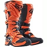 Fox motocross boots Comp 5, orange, EU size: 45 (UK men's: 11).