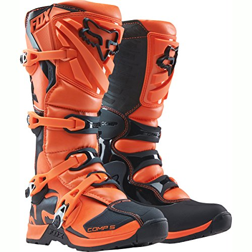 Fox Comp 5 Stiefel Orange MX Motocross US13 EU47,5