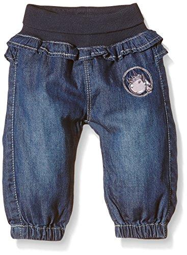 NAME IT Baby - Mädchen Jeanshose nitEDORA NB SO DNM REG/R Pant WR WL116, Gr. 68, Blau (Medium Blue Denim)