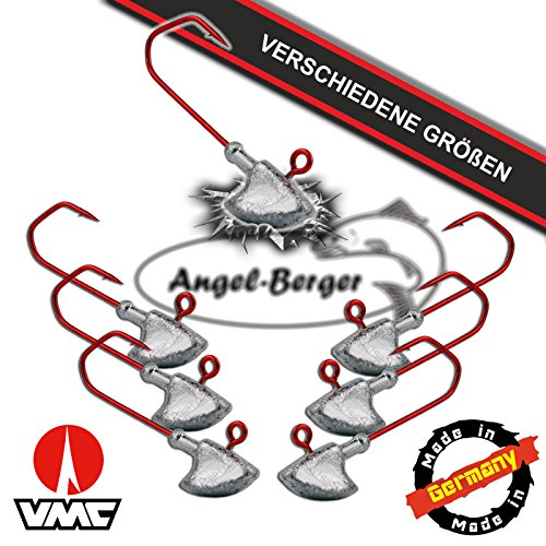 Angel Berger VMC Stand Up Jighaken Erie Jig (3/0 5g - 1 Stück) 1 Stück Spinnrute