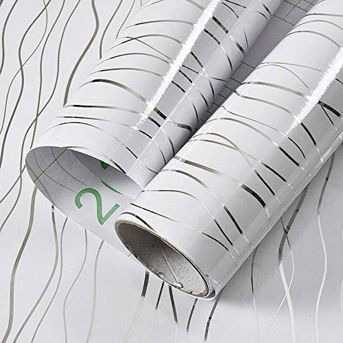 lsaiyy Selbstklebende Papierschrank Kleiderschrank dekorative Tapete wasserdicht Desktop-Schrank Kühlschrank Farbe Aufkleber Tapete-60CMX5M