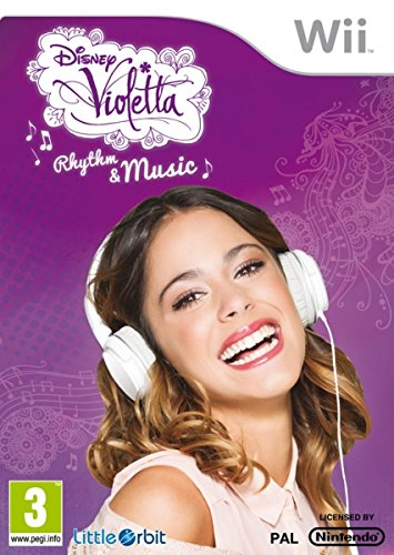 Disney Violetta: Rhythm & Music, Wii - Juego (Wii, Nintendo Wii, Soporte físico, Música, Game Machine Studios, 26/09/2014, E (para todos))