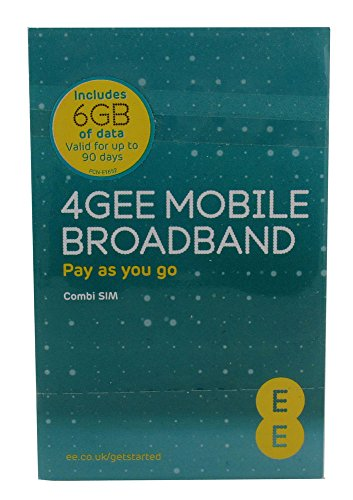 EE 4Gee PAYG Triple Data Sim Pack 6 GB