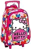 Montichelvo Hello Kitty Mochila Infantil, Color Rosa