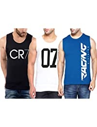 fb818c9cc0177a Amazon.in  Sleeveless - T-Shirts   Polos   Men  Clothing   Accessories