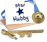 TiedRibbons® Best Gift for Men On Valentines Day Combo(Golden Medal ,Golden cufflinks,Tie-pin,Studded pen and Greeting card)