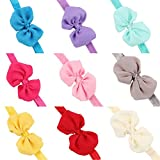 Best Hair Bows - CHRONEX Poly Cotton Hair Bow for Baby Girls Review
