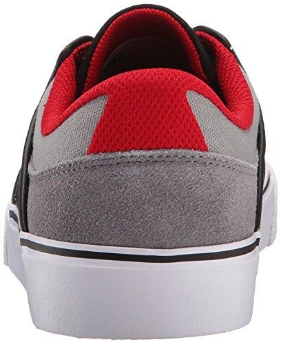 DC Men's Mikey Taylor Vulc Mikey Taylor Signature Skate Shoe, Burgundy, 10 M US Grigio