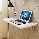 Einbauschrank Wandtisch Wandmontiert Drop-Blatt Tisch Falten Badezimmer Küche Esstisch Schreibtisch ( Farbe : Weiß , größe : 100*40cm )