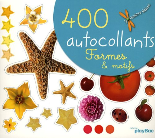 400 autocollants formes et motifs