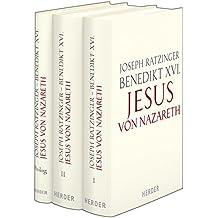 Jesus von Nazareth: 3 Bde., Ausgabe gebunden mit Schutzumschlag