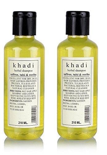 lot-de-2-x-khadi-saffrron-tulsi-et-reetha-shampooing-210-ml-lot-de-2-livraison-par-fedex-dhl