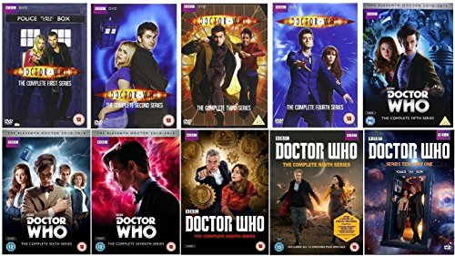 Doctor Who - Complete Collection, DVD (Serie Seasons 1-10, 1,2,3,4,5,6,7,8,9,10 Bundle) (8 Who Doctor Series)