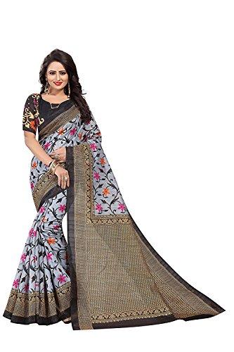 New Designer Saree Shop Silk Saree (BUTTERFLY PRINTED PURPLE_Multi-Coloured_Free Size)