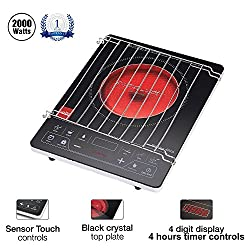 Cello Blazing 400 A Induction Cooker Black 2000W