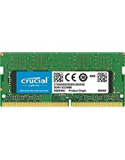 Crucial 8GB DDR4 1.2V 2400Mhz CL17 SODIMM RAM Memory Module for Notebooks and Laptops