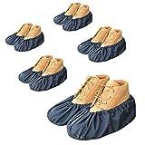 youtu Antislip Anti-Rutsch Schuhüberzieher,überschuhe überzieher Schuhüberzieher Shoe Cover Hülle,wiederverwendbar überschuhe Staubfrei,Für die meisten Erwachsenen, Unisex - schwarz