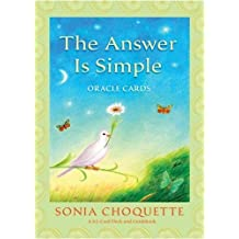 The Answer is Simple Oracle Cards by Choquette, Sonia (2009) Cards