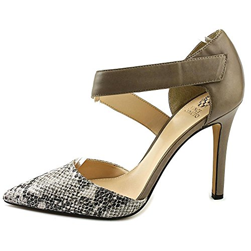 Vince Camuto Carlotte Cuir Talons Tabby Gry-Toast Taup