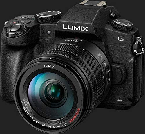 Panasonic DMC-G85H Lumix G Vario 14-140mm/F3.5-5.6 ASPH Lens, Mirrorless Camera