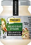Thomy Delikatess Mayonnaise Aglio e Olio d'Olivia, 129 g