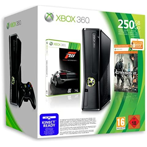 Xbox 360 - Console Slim 250 GB con Forza Motorsport 3 e Crysis 2 [Bundle]