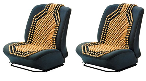 Preisvergleich Produktbild 2x HP Holzkugelsitzauflage Holzkugel Sitzauflage Auto Holzkugelaufleger 1 Stk