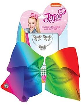 JoJo Siwa - Conjunto cinta de pelo y joyería para niñas - JoJo