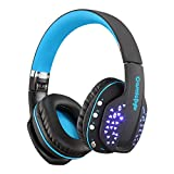 #4: Cosmic Byte Aura B3506 V2 Bluetooth Headphone with Mic (Black/Blue)