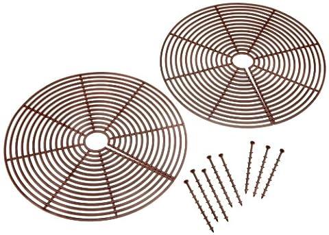 Ruco V322 Lot de 2 grilles de protection pour plantes