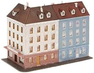 Faller - F232262 - Modélisme - Maison Angle + Bâtiment