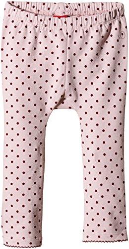 s.Oliver Baby-Mädchen Legging in Sweatqualität, Gepunktet, Gr. 62 (Herstellergröße: 62/REG), Mehrfarbig (pink AOP 41A5)
