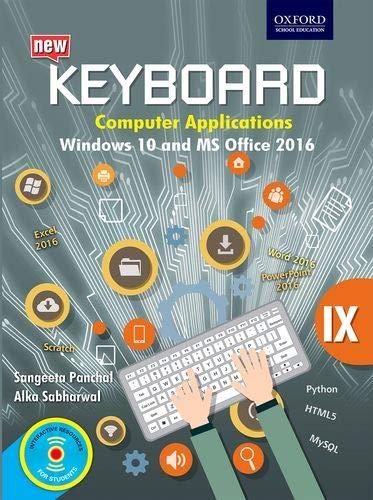 Keyboard Windows 10 Office 2016 Class 9