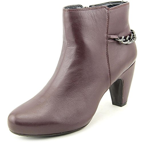 Easy Spirit Parilynn Femmes Large Cuir Bottine Dkr-Dkr