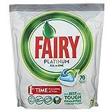 Fairy Platinum Original DishWasher Tablets, 70 Tablets