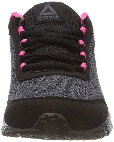 Reebok Damen Speedlux 3.0 Laufschuhe Schwarz (Black/ash Grey/acid Pink)