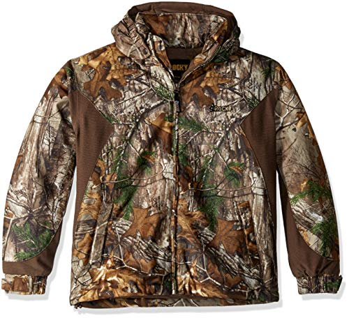 Rocky Junior Prohunter Wasserdicht Isolierte Kapuzenjacke, Unisex, 607105, Realtree Extra Camouflage, Large Rocky Pro-hunter