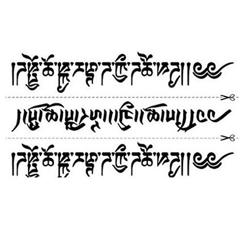 Temporäre Tattoos Sanskrit Unisex Tattoos Aufkleber Individuelle Styles Tattoo Design